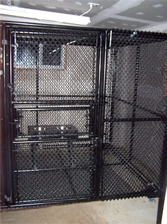Custom Made Dog Kennels in Richmond, VA | Atlantic Fence Supply