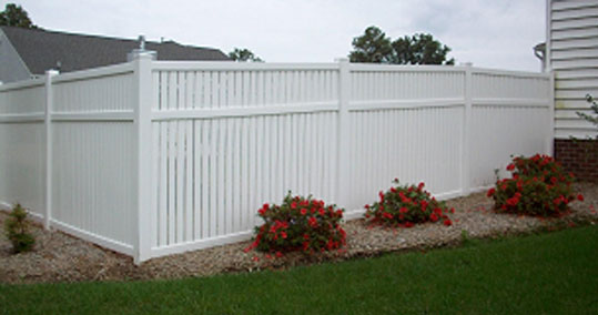 Semi Private Vinyl Fence Options Richmond Va Atlantic